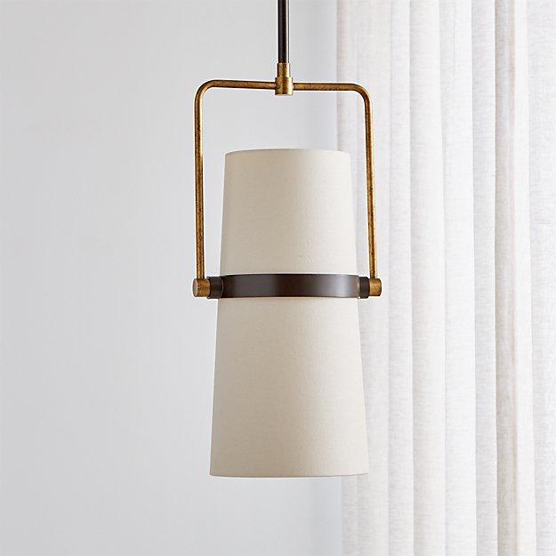 Riston Adjustable Pendant Light | Crate and Barrel on Riston Floor Lamp  id=93018