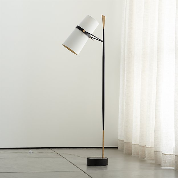 - Riston Floor Lamp Crate And Barrel