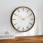 Rix Brass 14  Wall Clock