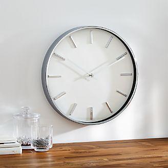 Rix Chrome 14 Wall Clock
