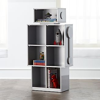 Robot Bookshelf Kids