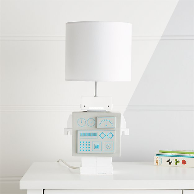 Robot Table Lamp Crate And Barrel