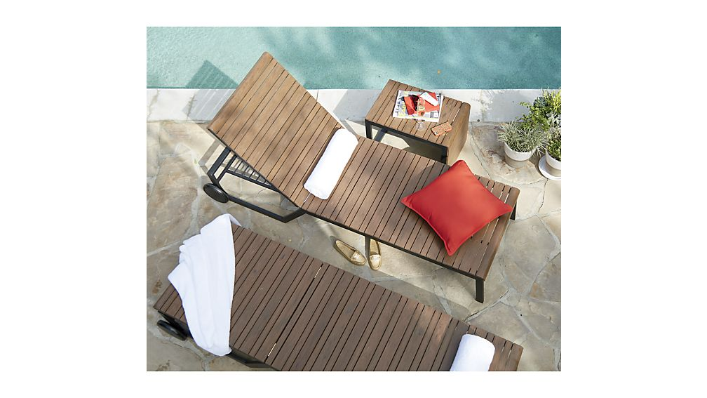 Rocha Chaise Lounge with Sunbrella ® Cushion
