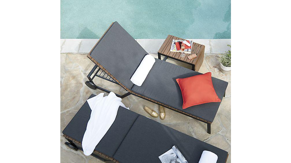 Rocha Chaise Lounge with Sunbrella ® Cushion