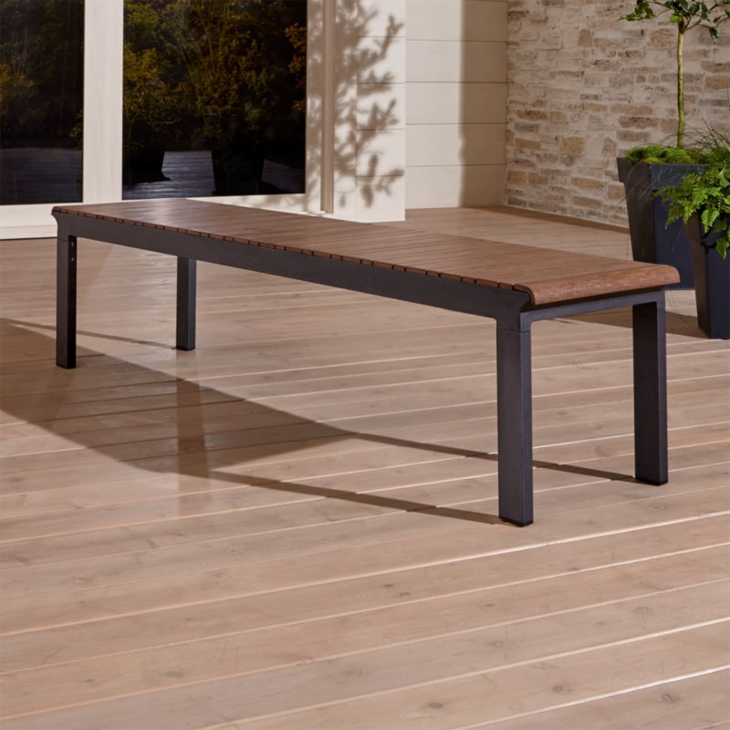 Rocha Ii Dining Bench Reviews Crate And Barrel