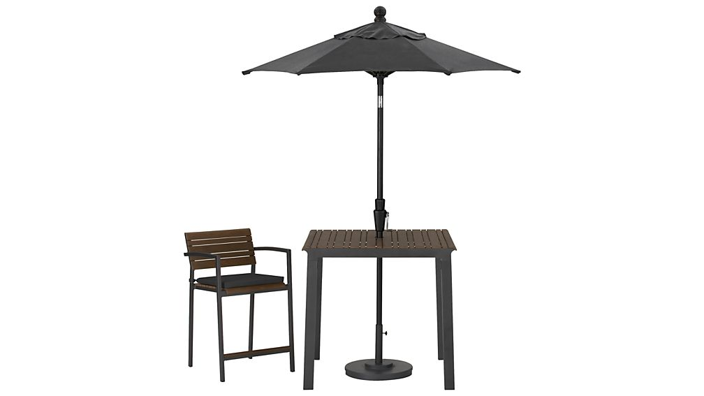 Rocha Counter Stool with Sunbrella ® Cushion