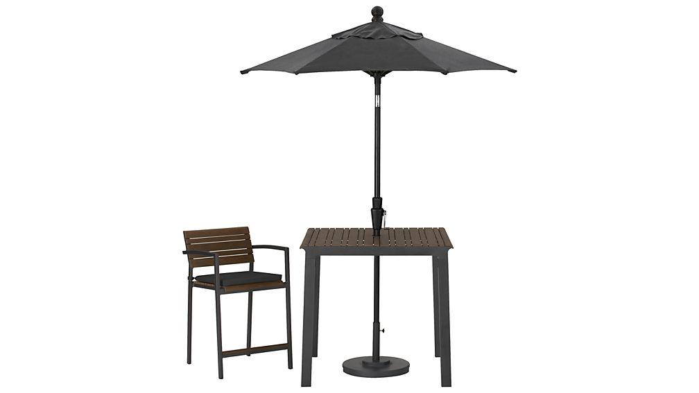 Rocha Counter Stool with Sunbrella ® Cushion