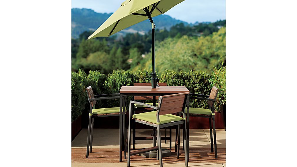 Rocha High Outdoor Table : Crate and Barrel