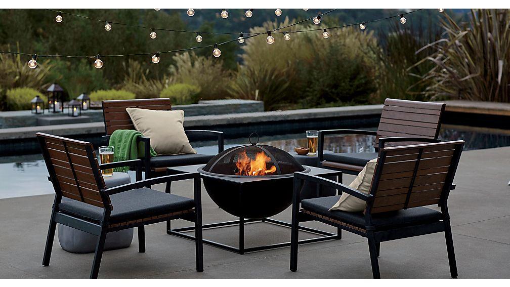 Rocha Lounge Chair With Sunbrella 174 Cushion Sunbrella