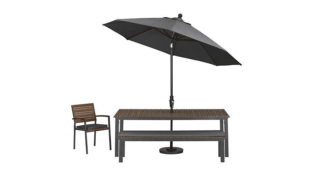 Rocha Dining Bench with Sunbrella ® Cushion