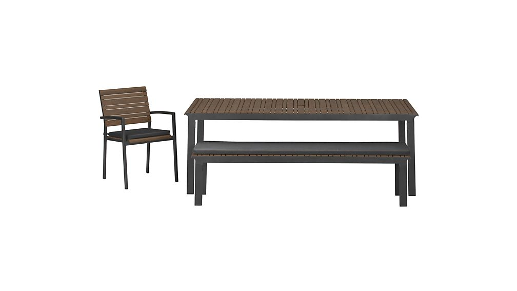 Rocha Sunbrella ® Dining Bench Cushion
