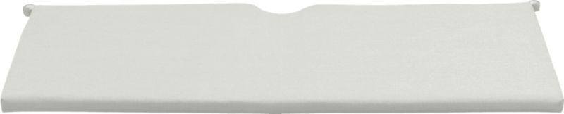 Add extra comfort to Rocha sofa seating with fade-, water- and mildew-resistant Sunbrella® acrylic cushions in warm white sand.<br /><br /><NEWTAG/><ul><li>Fade- and mildew-resistant Sunbrella® acrylic</li><li>Polyurethane foam fill</li><li>Cushion is secured with fabric tab fasteners</li><li>Spot clean</li><li>Made in USA</li></ul>