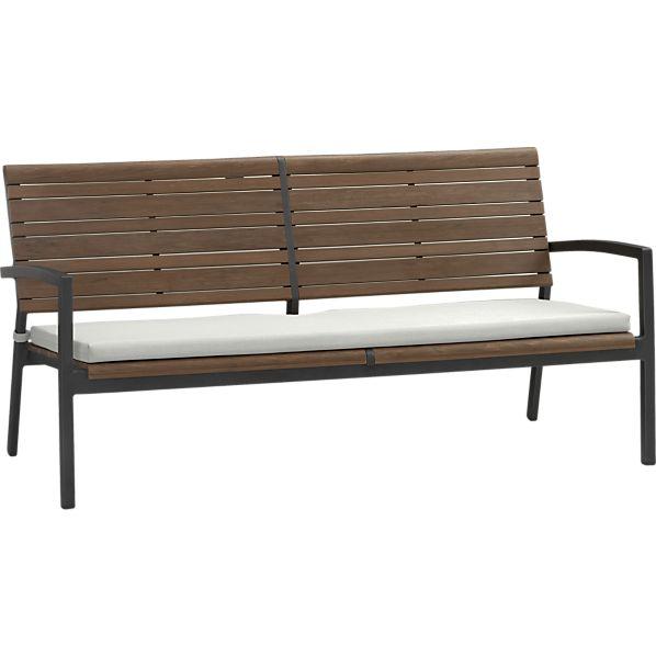 Rocha Sofa with Sunbrella ® White Sand Cushion