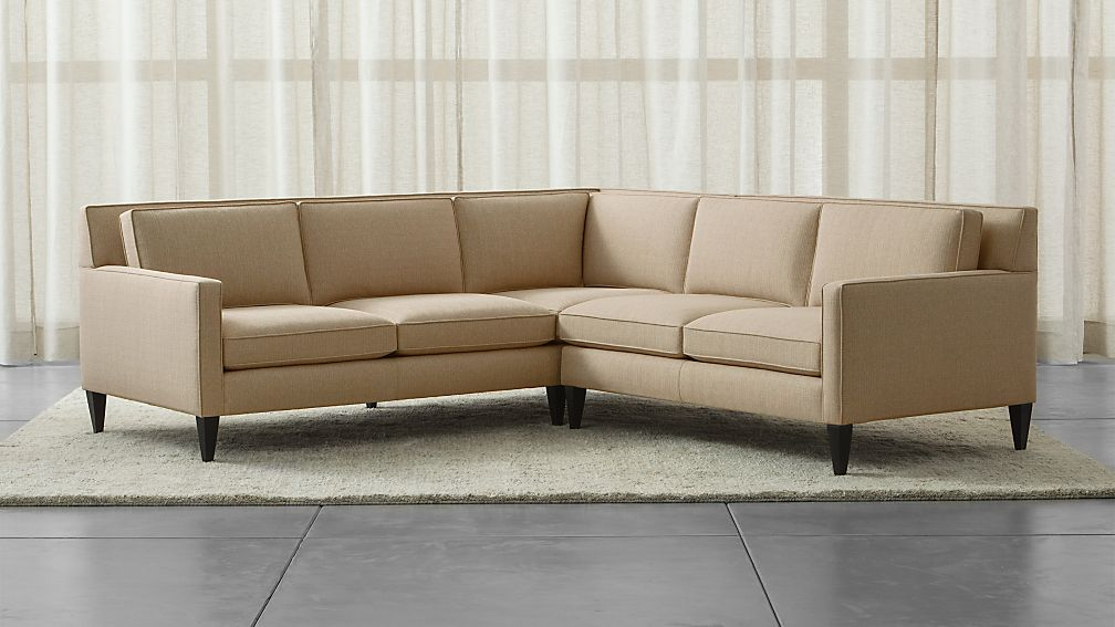 Rochelle 2-Piece Sectional Sofa ... : crate and barrel sectional sofa - Sectionals, Sofas & Couches