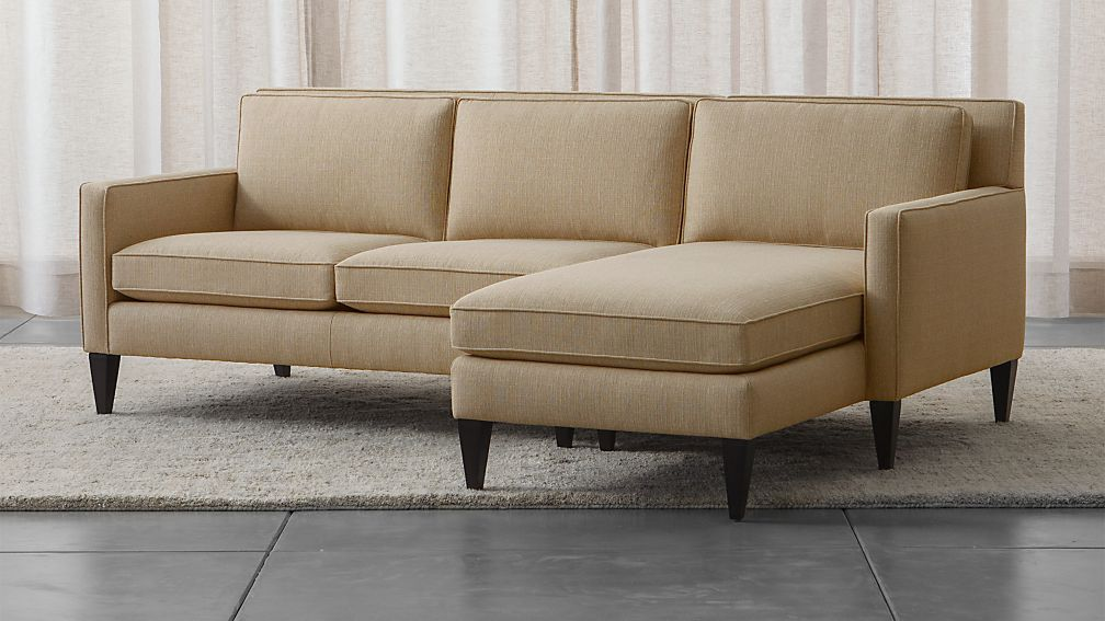 Rochelle Mid Century Modern Sectional Reviews Crate And Barrel