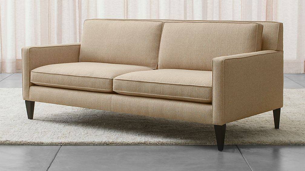 Rochelle Apartment Size Sofa Reviews Crate And Barrel
