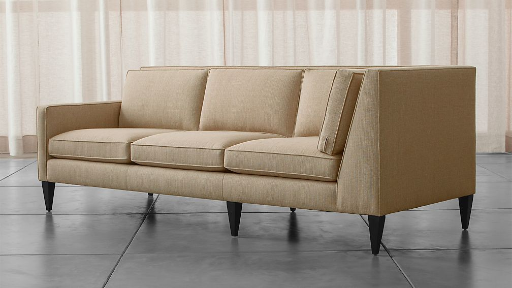 Rochelle Midcentury Modern Left Arm Corner Sofa Reviews Crate