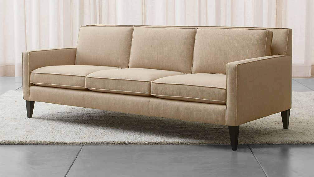Rochelle Mid Century Modern Couch Reviews Crate And Barrel