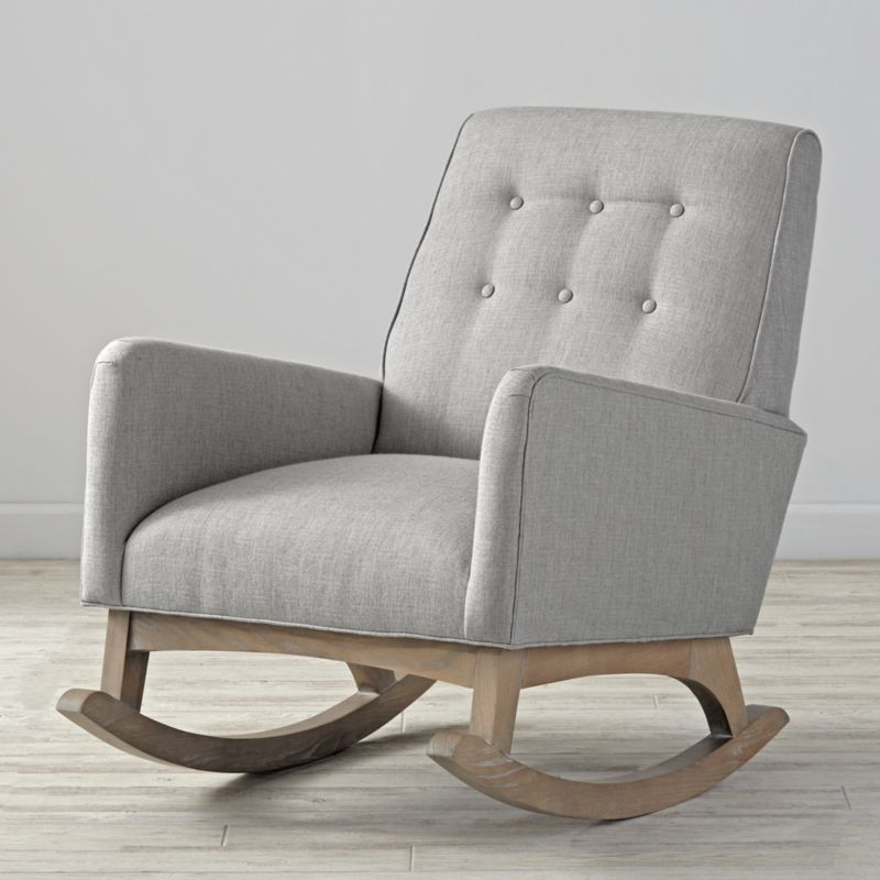 Everly Retro Rocking Chair Reviews Crate And Barrel