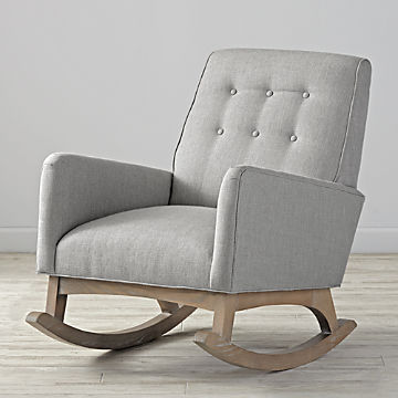 Incredible Rocking Chairs And Gliders Crate And Barrel Creativecarmelina Interior Chair Design Creativecarmelinacom