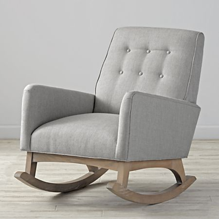 Phenomenal Everly Tufted Rocking Chair Caraccident5 Cool Chair Designs And Ideas Caraccident5Info