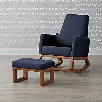 Joya Rocking Chair and Ottoman
