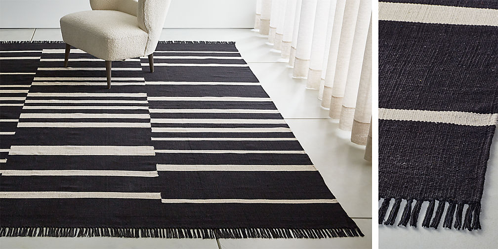 3ae5aff968d3 Nice to have. Roland Striped Cotton Rug