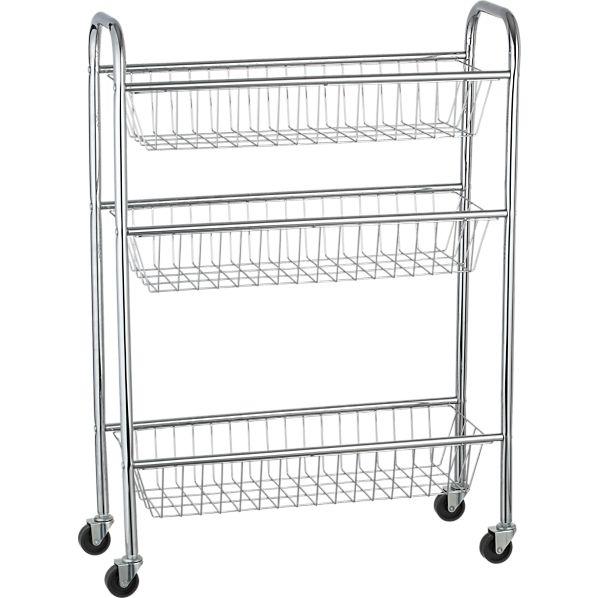 Rolling 3-Tier Cart