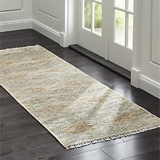 Romina Diamond Pattern Rug Runner ...