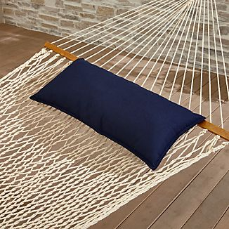 Dark Navy Blue Hammock Pillow
