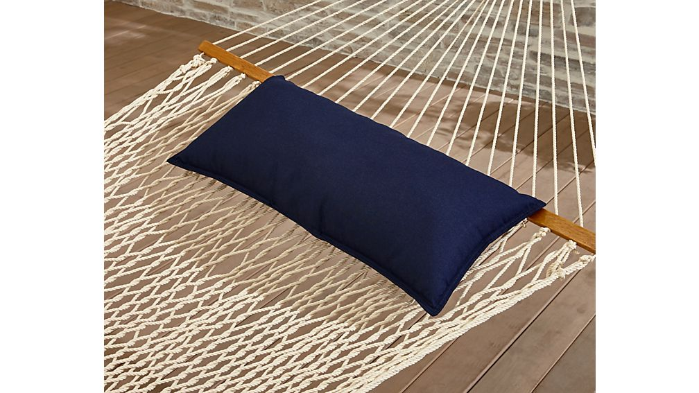 DuraCord ® Oatmeal Hammock with Pillow and Stand