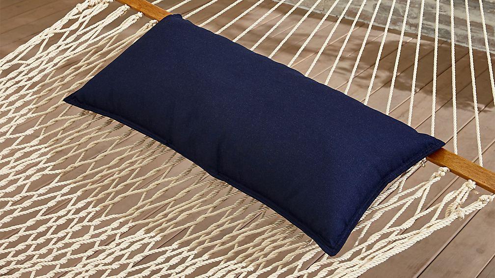Dark Navy Blue Hammock Pillow