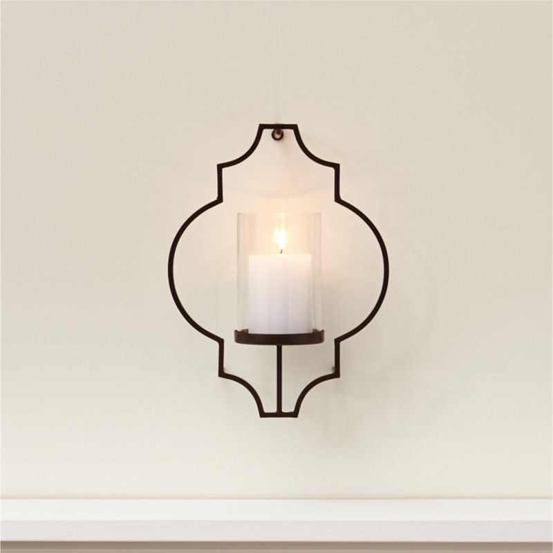 Rosaline Candle Wall Sconce Crate and Barrel