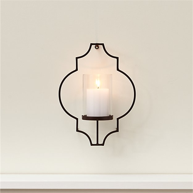 Rosaline Metal Wall Candle Holder