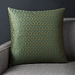 Rosello Teal Pillow with Down-Alternative Insert 20
