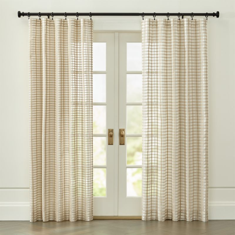 Ross Curtain Panel | Crate and Barrel