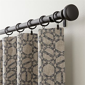 Roston Geometric Curtain Panel