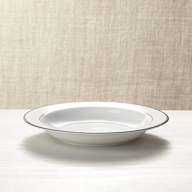Roulette Blue Band Low Bowl - Image 1 of 4