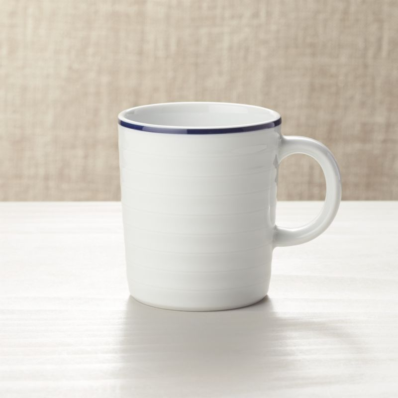 Blue And White Coffee Mug Reviews Crate And Barrel