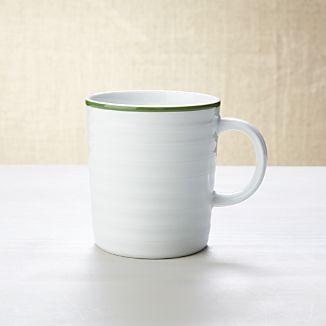 Roulette Green Band Mug