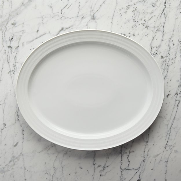 Roulette Large Oval Platter
