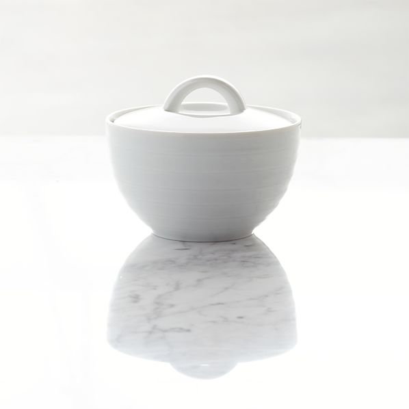 Roulette Sugar Bowl with Lid
