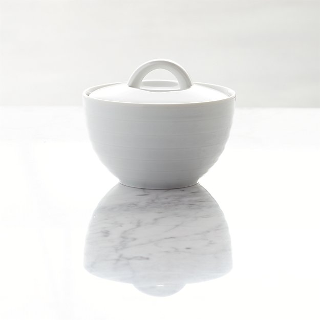 Roulette Sugar Bowl with Lid - Image 1 of 4