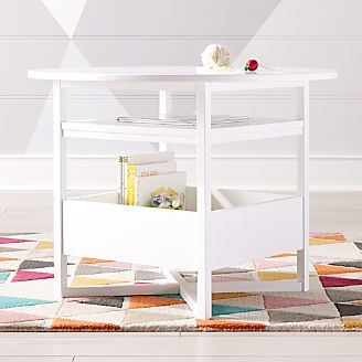 Round Storage Kids Table Kids