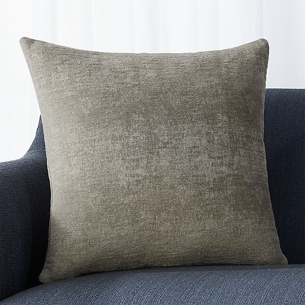 "Roussel Grey 20"" Pillow"