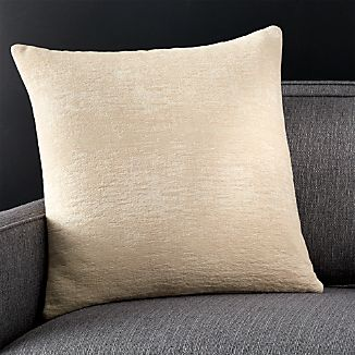 """Roussel Ivory 20"""" Pillow with Down-Alternative Insert"""