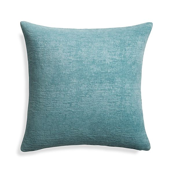 RousselVelvetBlue20x20PillowS17