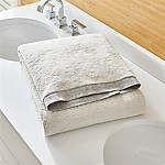 Rowan Grey Bath Sheet