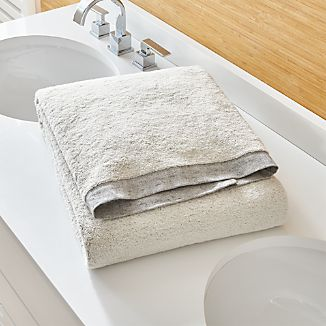 Rowan Grey Bath Sheet