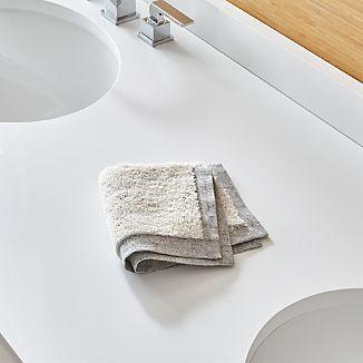 Rowan Grey Washcloth